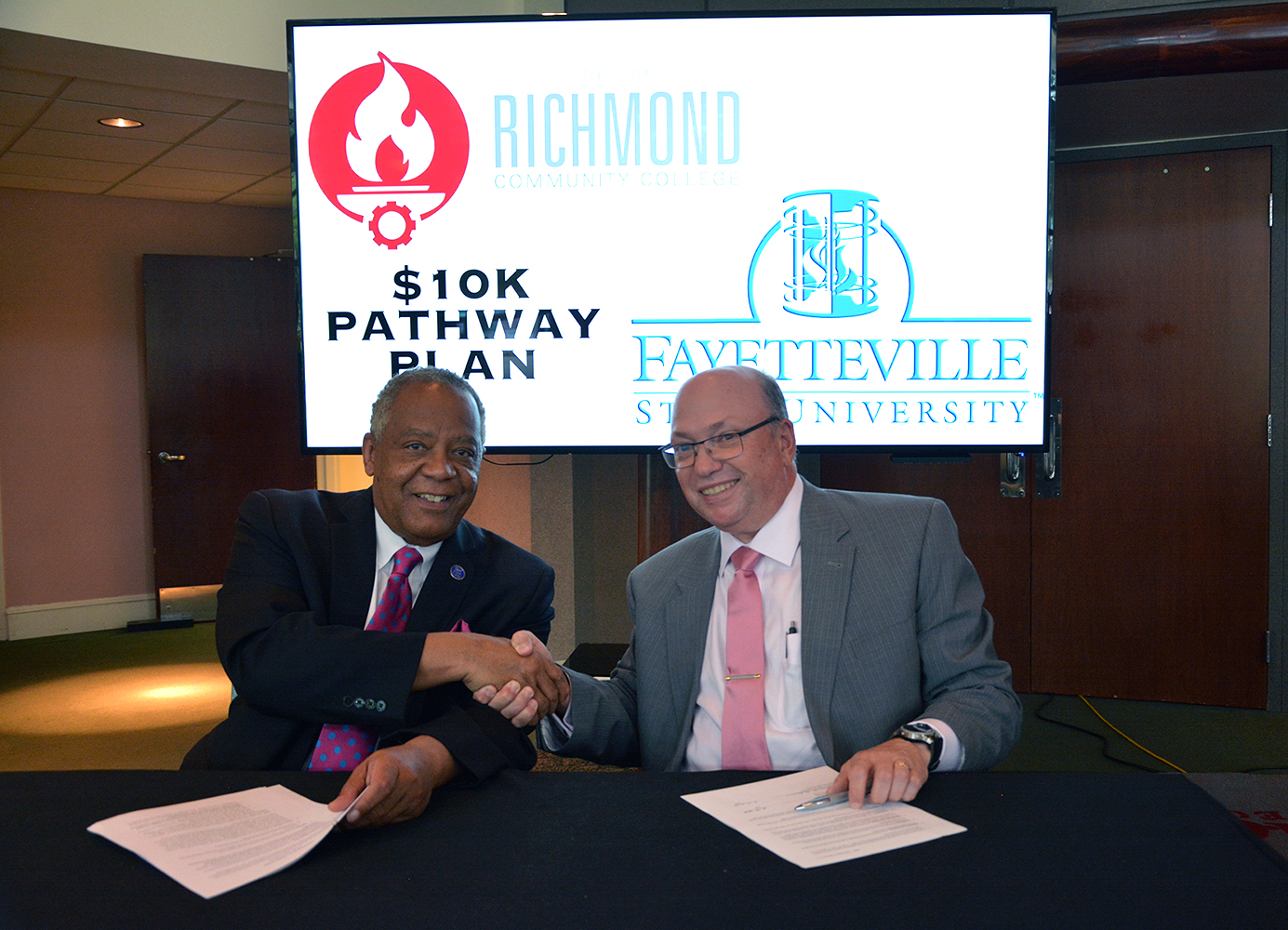 Fayetteville State Opens 10k Pathway Plan To Richmondcc Graduates Richmond Community College