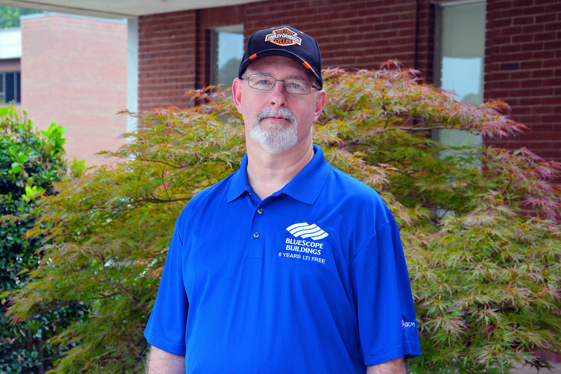 Jimmy Jones of Maxton is a maintenance technician with Blue Scoop Buildings North America. The four diplomas he earned from Richmond Community College have helped him advance in his job.