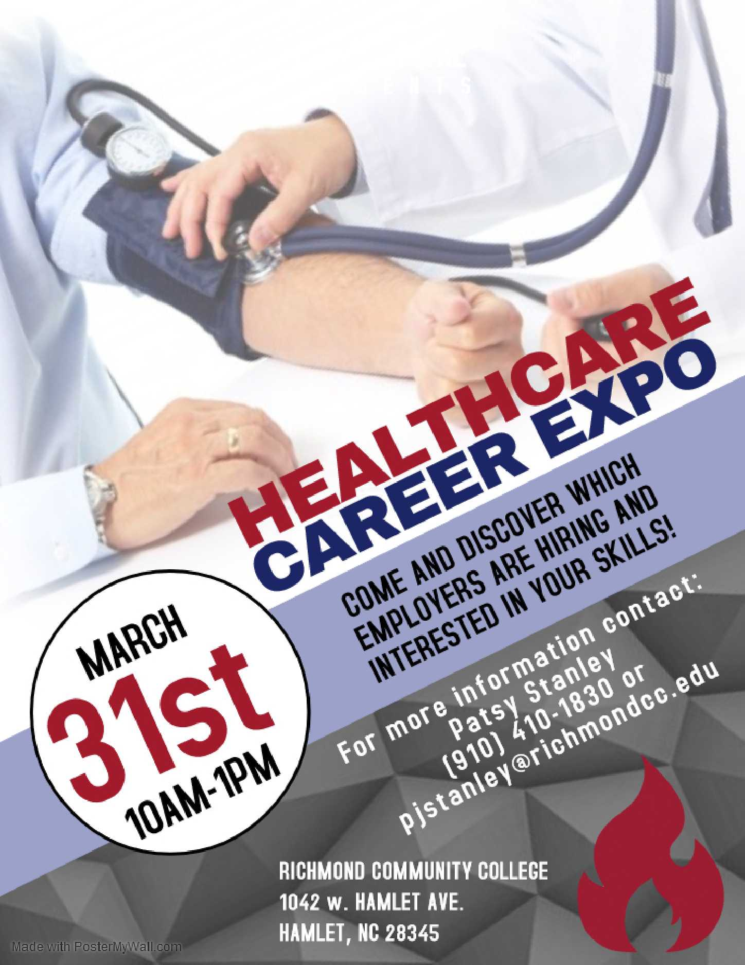 Healthcare Career Expo Flyer