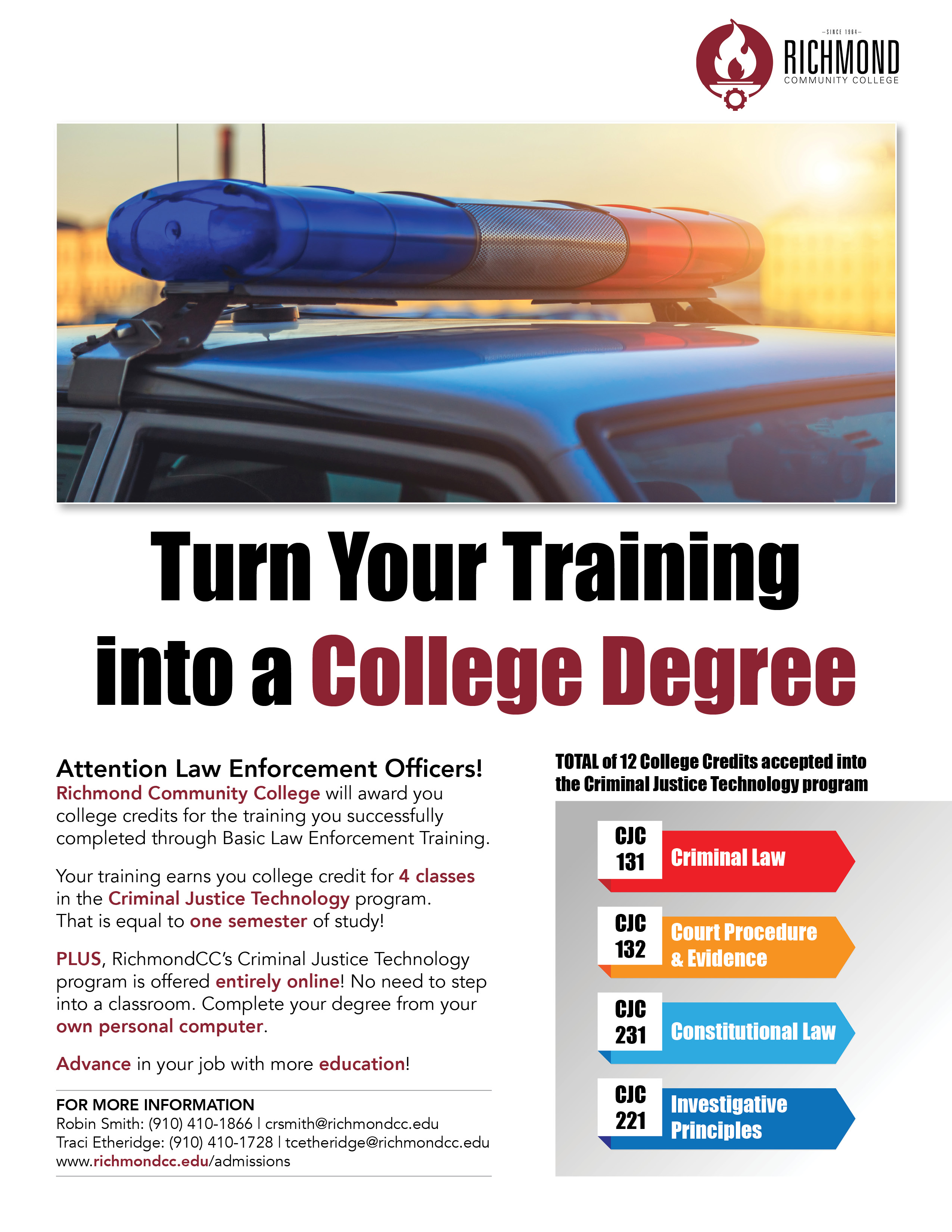 Turn your training into a college degree