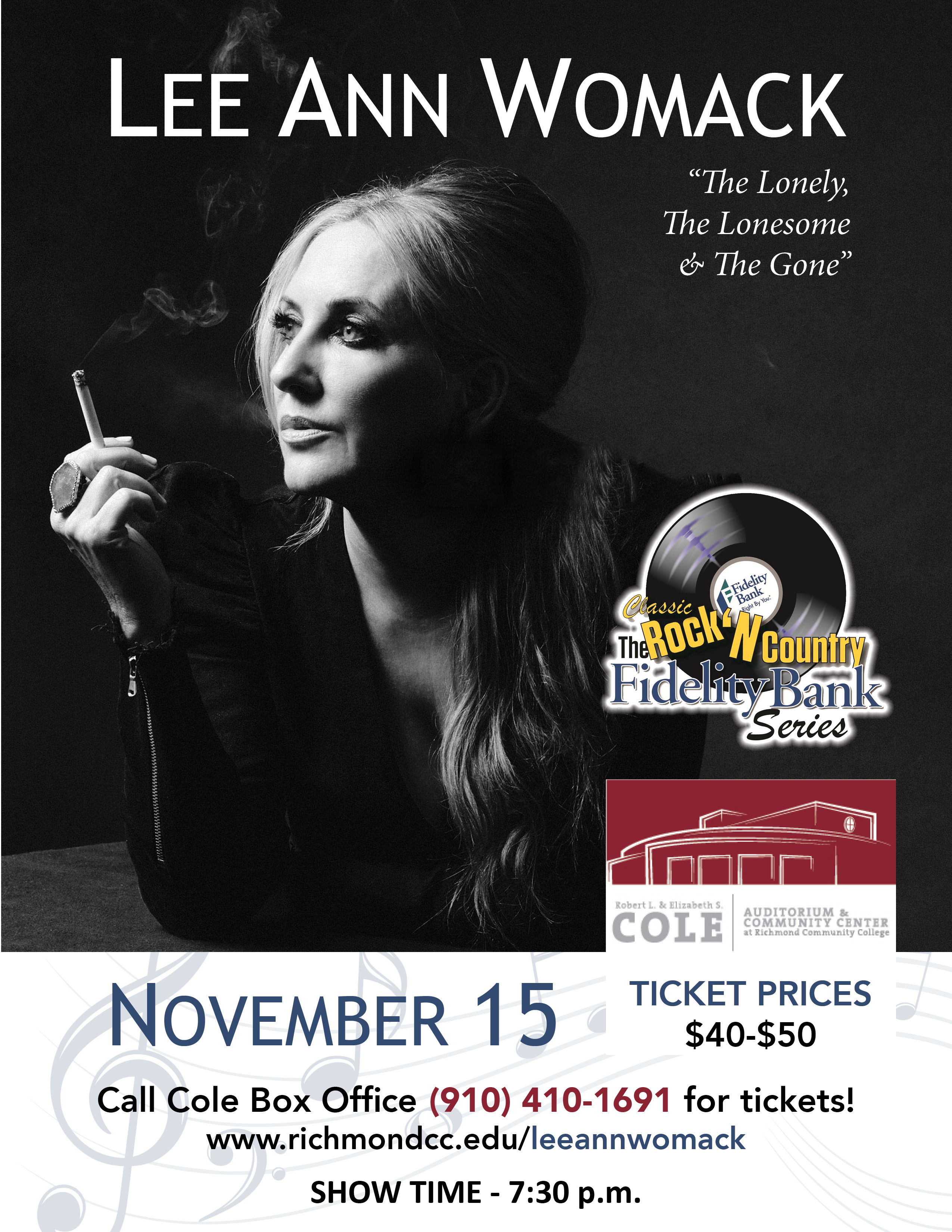 Lee Ann Womack show promo