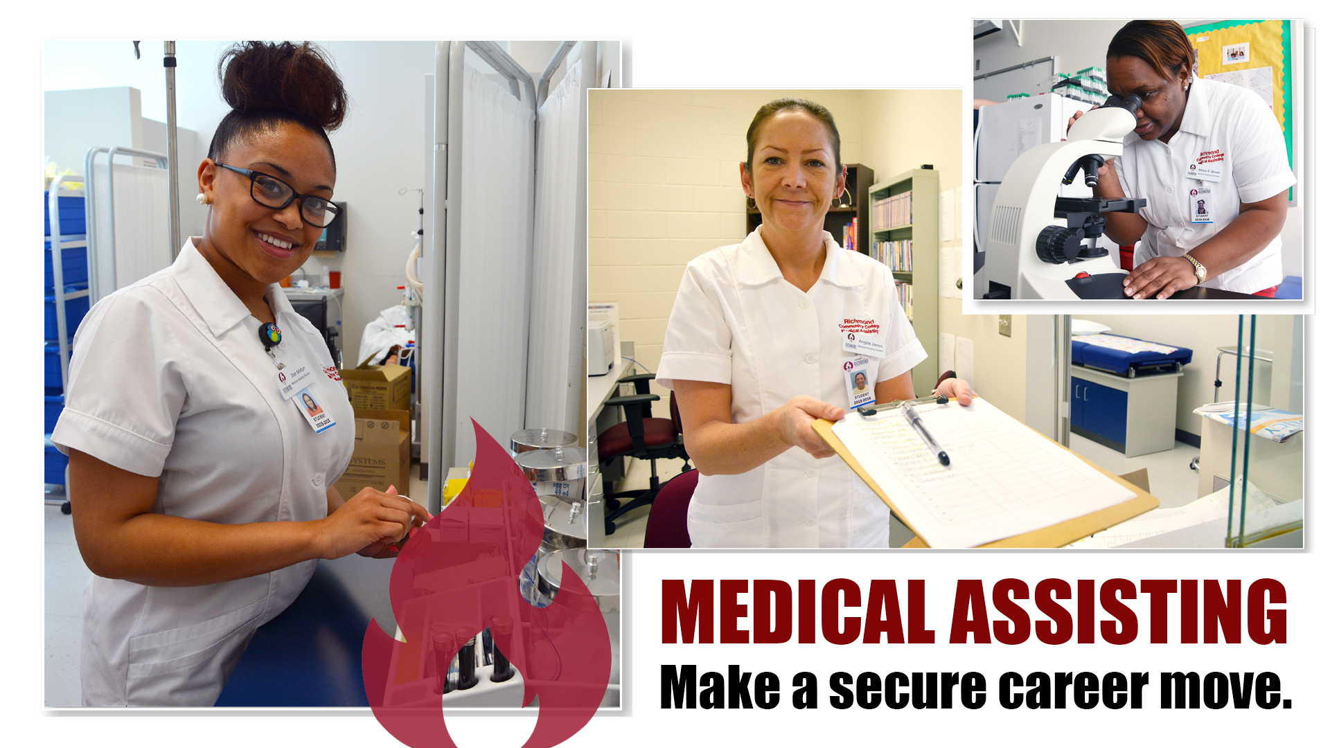 Medical Assisting Make a secure career move