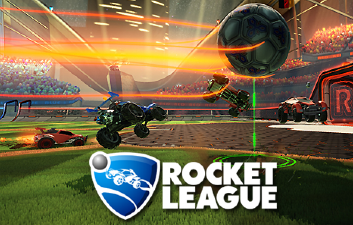 Photo of the game Rocket League
