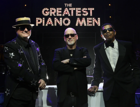 Greatest Piano Men show poster