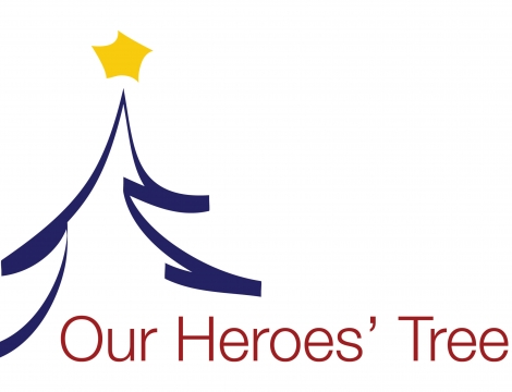 Our Heroes Tree Logo