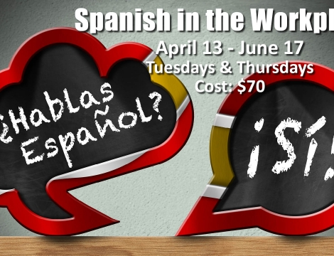 signs with Spanish writing