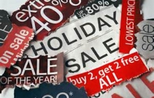 Holiday Sales Paper Clippings