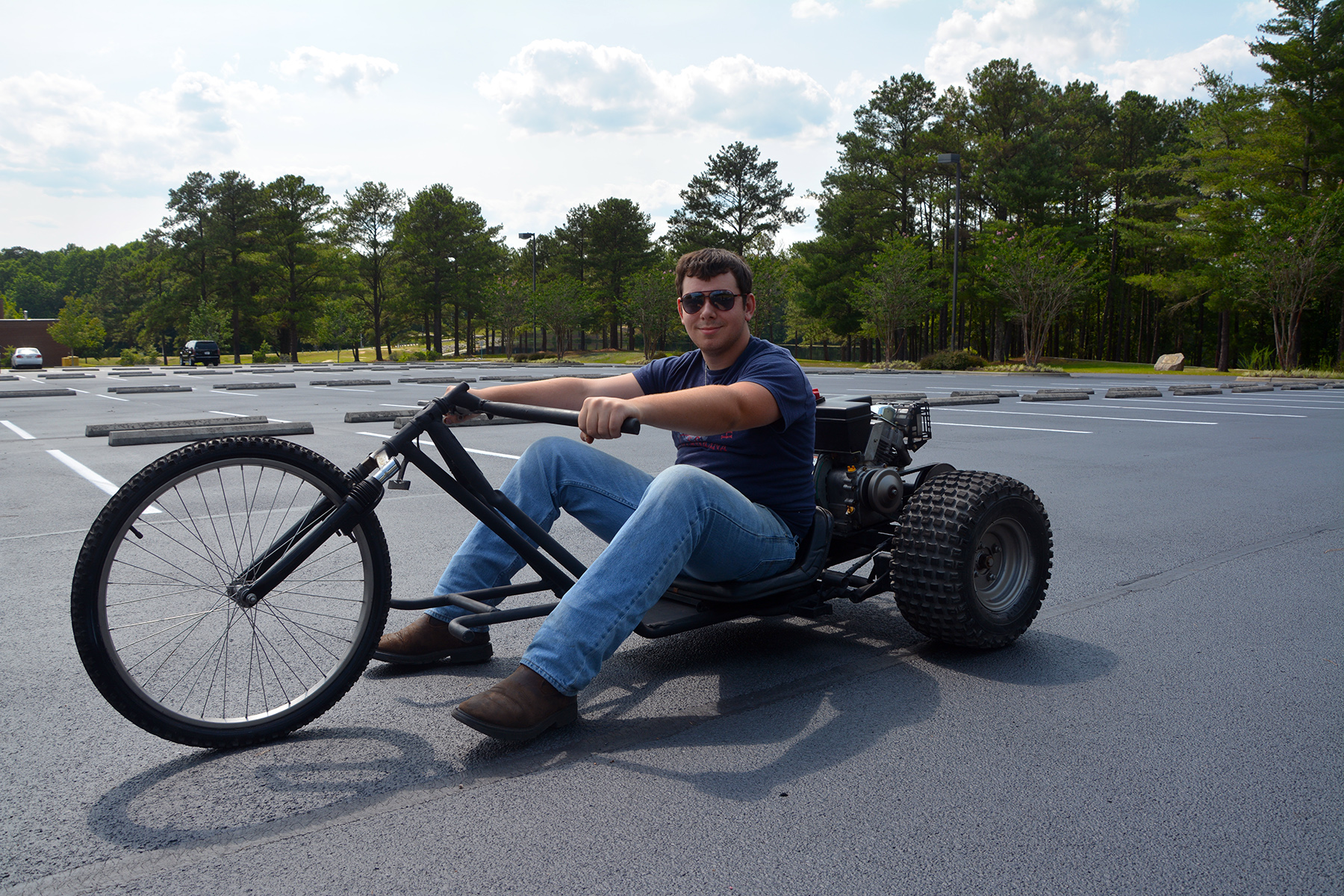 Rcc Welding Students Build Motorized Trike Richmond